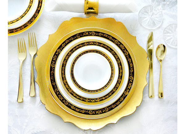 Royal Collection Black and Gold - Royalty Settings