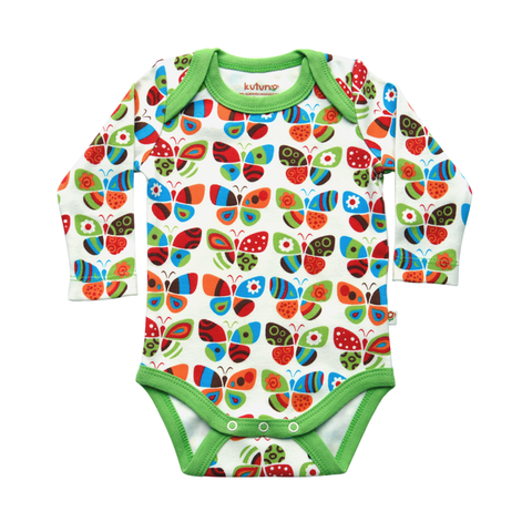 Kutuno Colourful Butterflies Body - Babycoo - 1