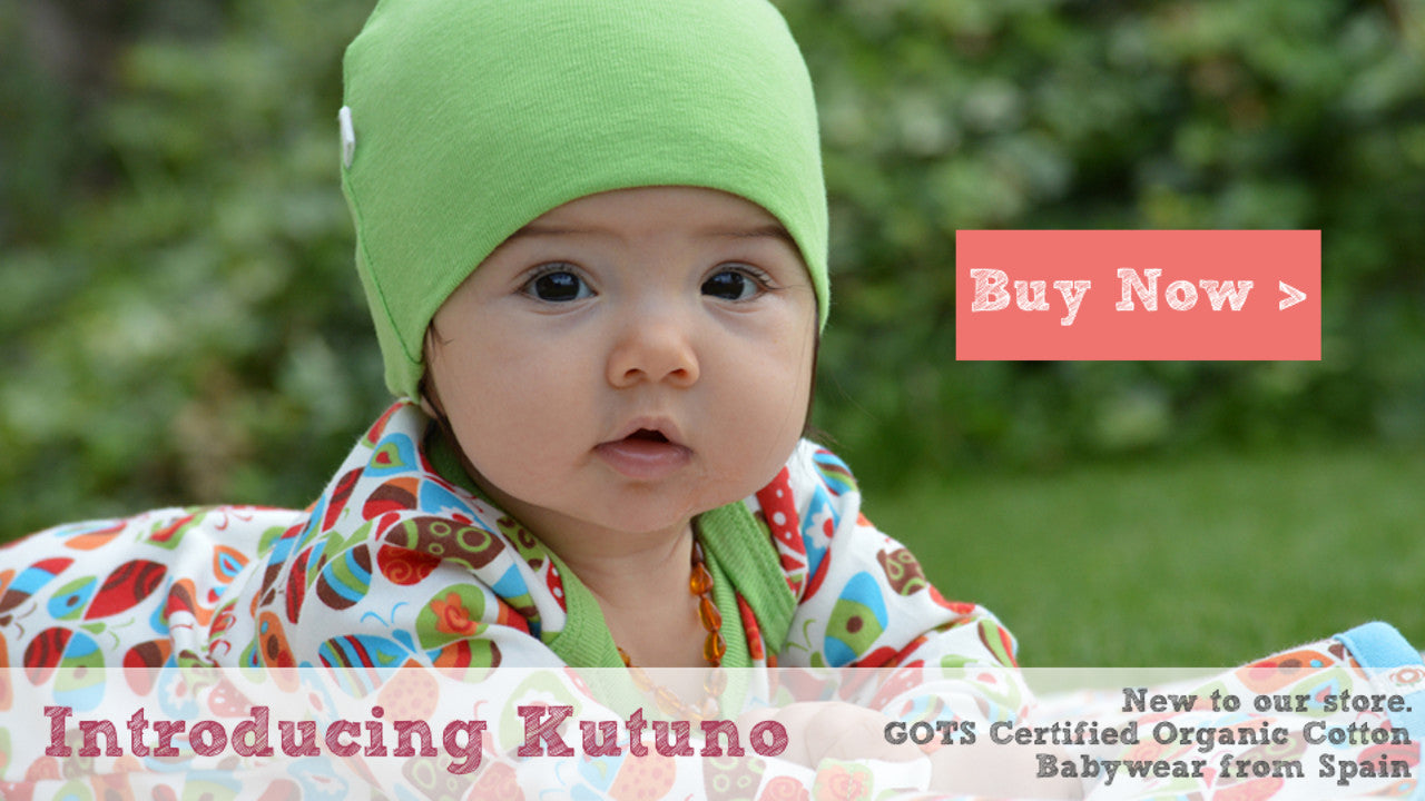 Introducing Kutuno, organic babywear