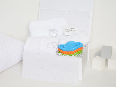 Baby Bath Time Hamper Box with Bath Boats
