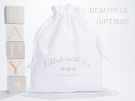 Cotton baby gift bag