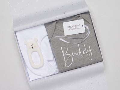 Buddy baby gift set