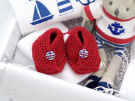 Personalised Nautical Baby Hamper