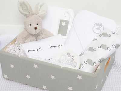 Baby Hamper Unisex Grey Star