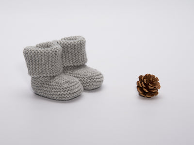 Soft Baby Merino Wool Booties