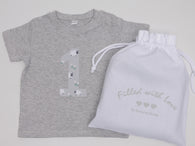 First Birthday T-shirt - Little Lamb