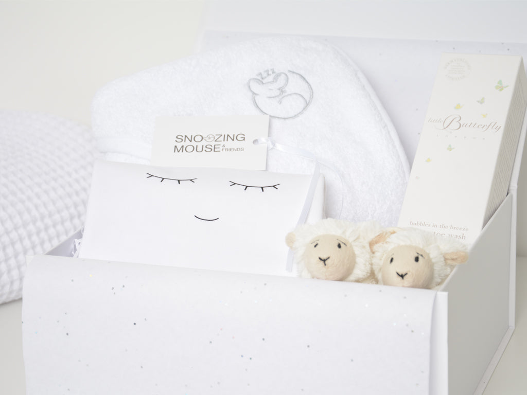 Little Lamb Bedtime Hamper Box
