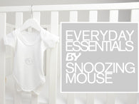 Soft cotton Snoozing Mouse baby vest