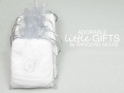 Snoozing Mouse Hooded Towel