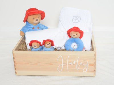 Paddington Bear Personalised Baby Hamper