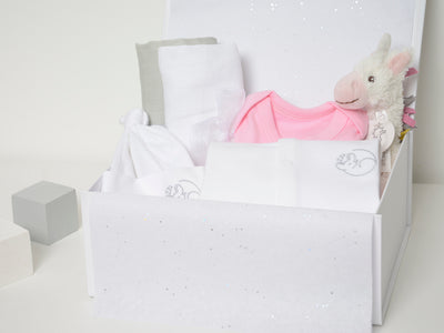 Baby Girl Unicorn Hamper Box