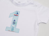 Nautical First Birthday Gift Set