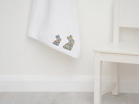 Liberty Print Baby Bunny Blanket & Shoe Set