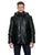 Men's Leather Jacket with Hood | EDWARD | Sly & Co