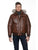 Men's Leather Bomber Jacket BLACKCROSS | Sly & Co