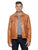 Camel Leather Jacket DAKAR | Sly & Co