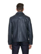 Navy leather jacket Dolci | Sly & Co
