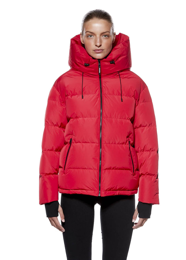 Women's puffer coat ANNALISA by Ookpik World sold on OokpikWorld.ca