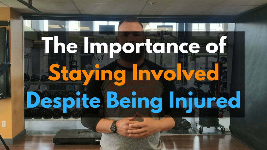The Importance of Staying Involved Despite Being Injured