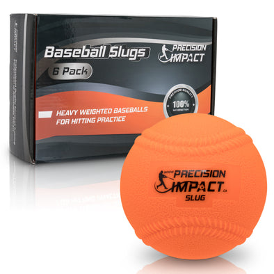Baseball Slugs with Laces (6-Pack)