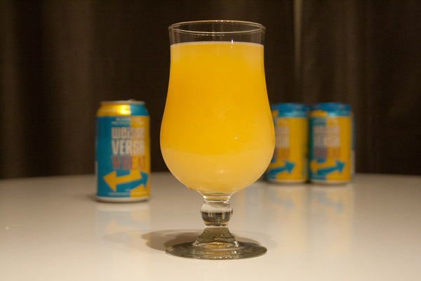 "The ""Man-mosa"": A Beery Mimosa with Karbach's Weisse Versa Wheat"