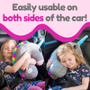 Tulatoo Unicorn Stuffed Animal Travel Pillow- Perfect Neck Pillow & Seat Belt Cover!