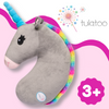 Image of Tulatoo Unicorn Stuffed Animal Travel Pillow- Perfect Neck Pillow & Seat Belt Cover!