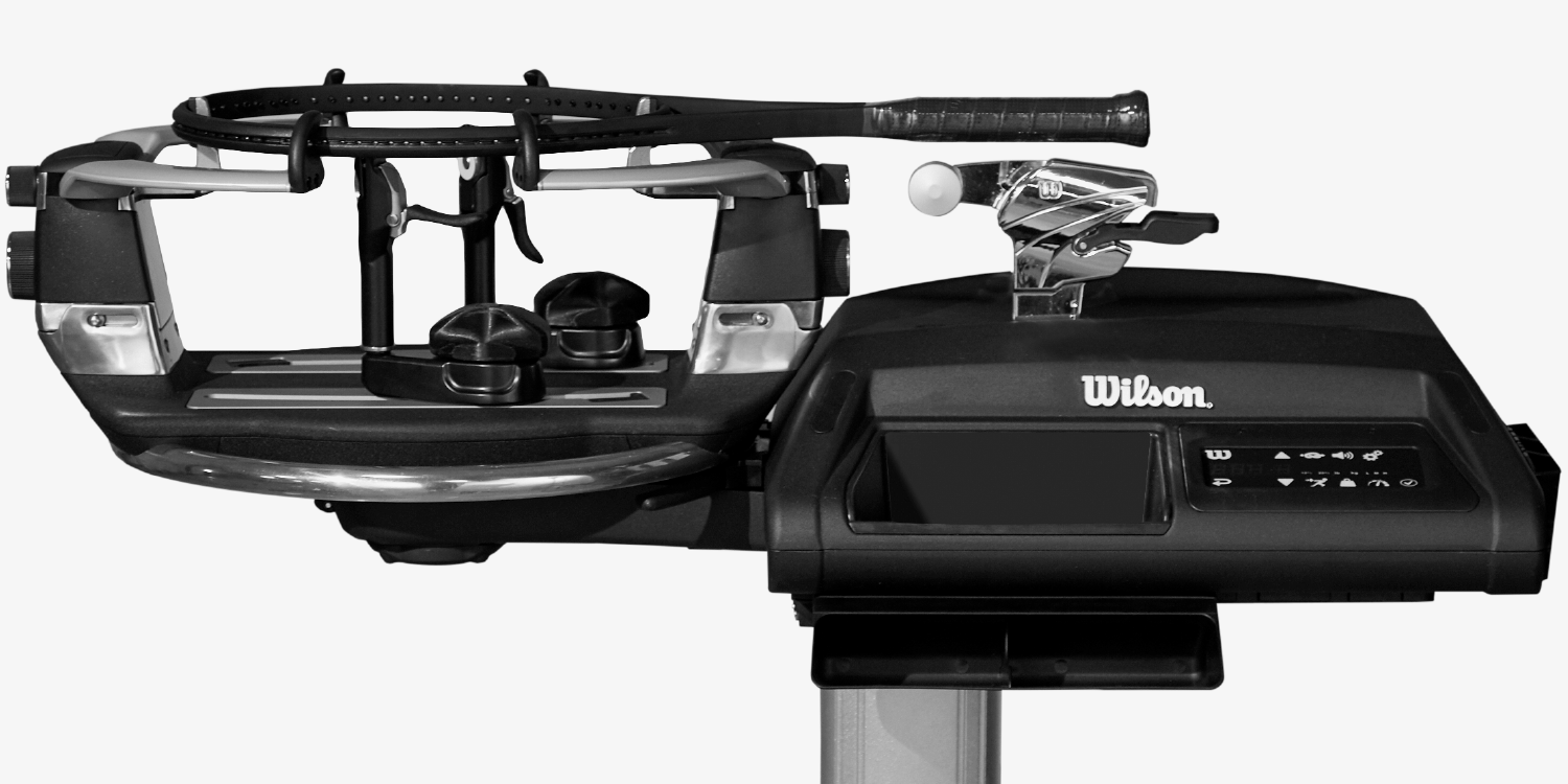 Wilson baiardo tennis stringing machine canada