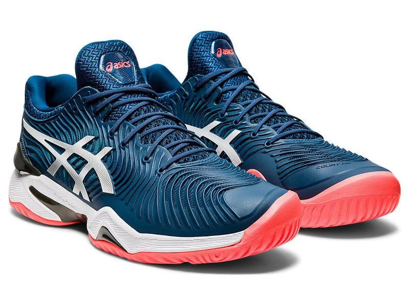 Asics Court FF 2 (Men's) - Mako Blue/White