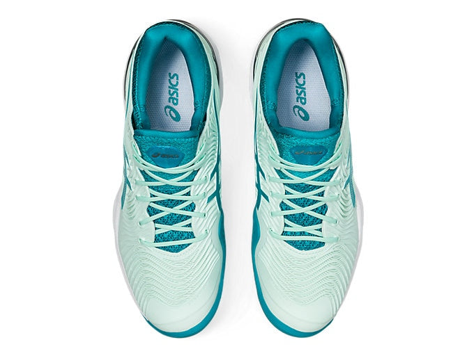 Asics Court FF 2 (Women's) - Bio Mint/Lagoon