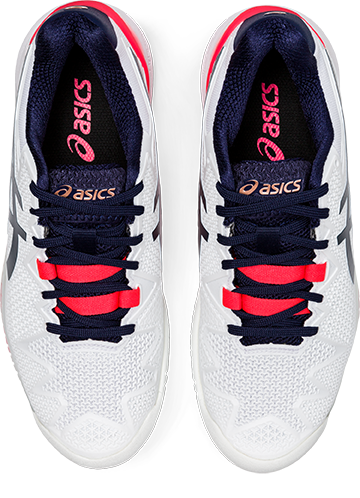 Asics Gel Resolution 8 (Women's) - White/Peacoat