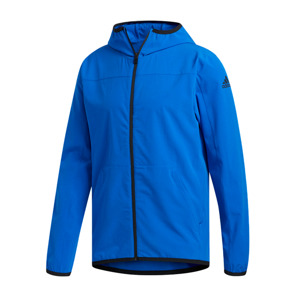 Adidas City Base Jacket (Men's) - Glow Blue