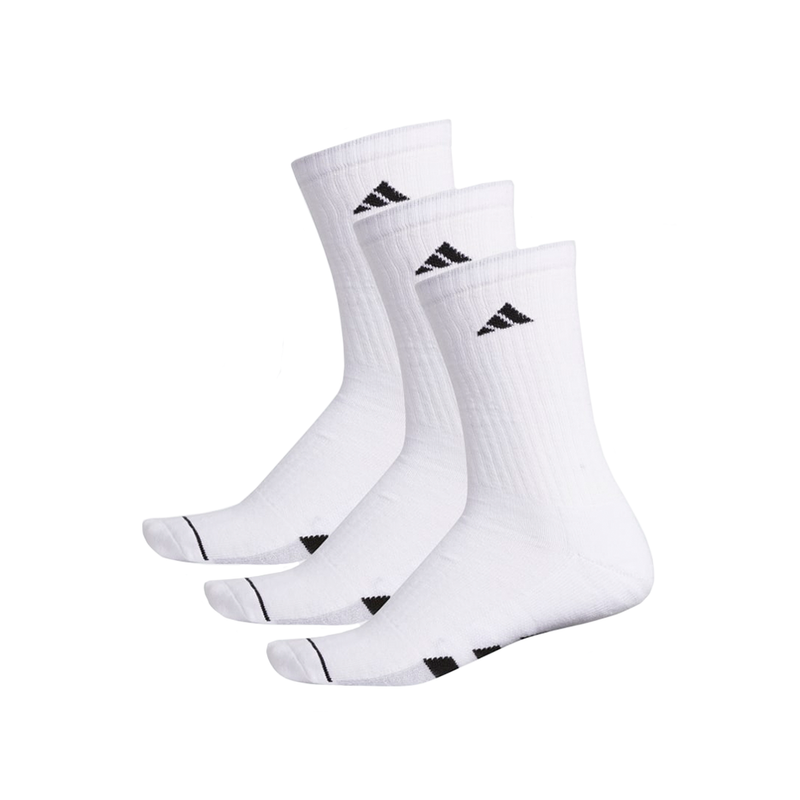 Adidas Cushioned Crew Sock (3-Pack) - White
