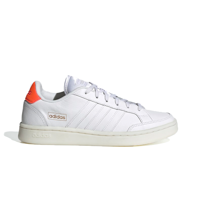 Adidas Grand Court SE (Women's) - Cloud White/Cloud White/Signal Pink