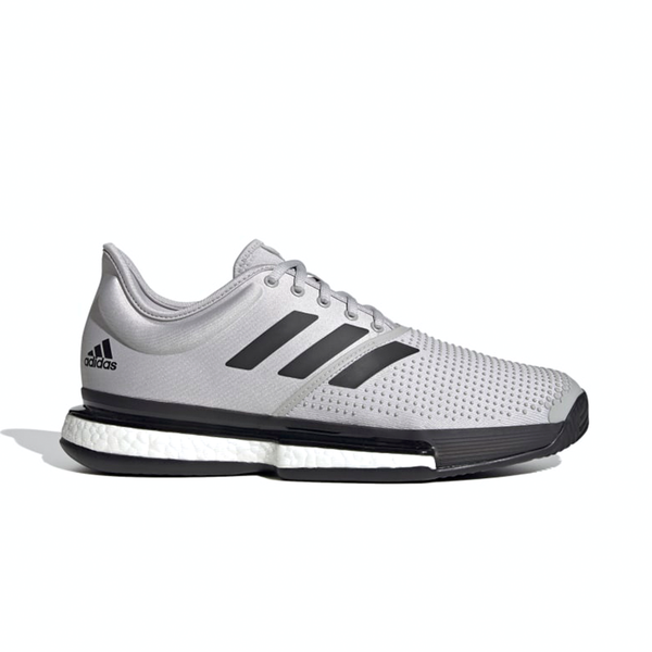 Adidas Solecourt Primeblue Parley (Men's) - Grey Two/Core Black/Cloud White