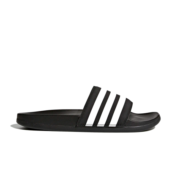 Adidas Adilette Comfort Slides (Women's) - Core Black/Cloud White
