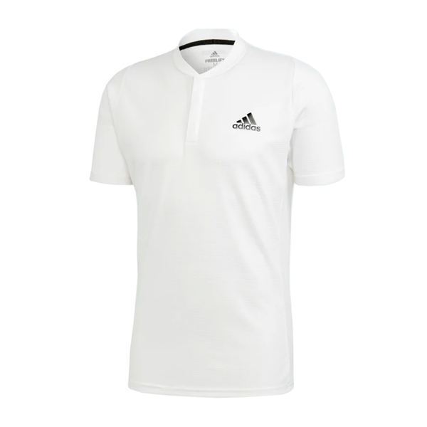 Adidas Freelift Heat.RDY Tennis Polo (Men's) - White