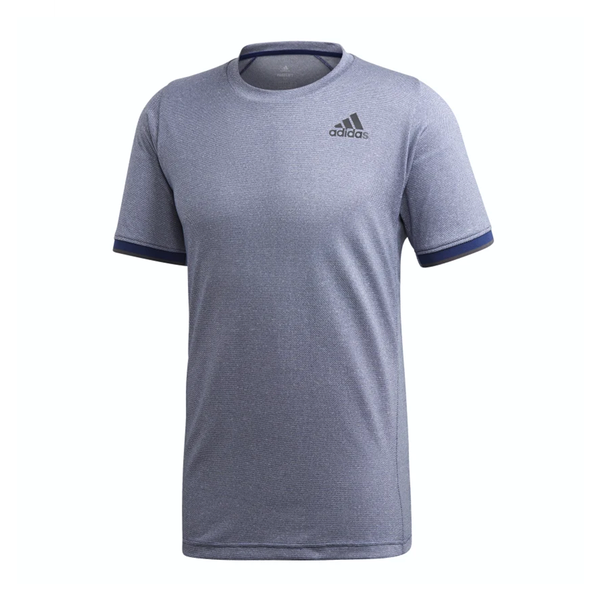 Adidas Gameset Freelift Tee (Men's) - Tech Indigo Melange