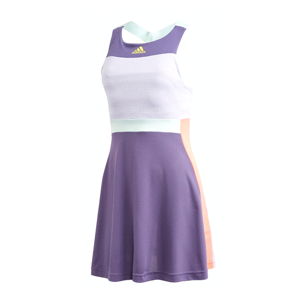 Adidas Gameset Heat.RDY Dress (Women's) - Tech Purple/Shock Yellow