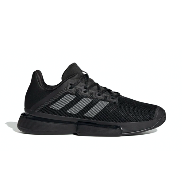 Adidas SoleMatch Bounce (Men's) - Core Black/Night Metallic/Core Black