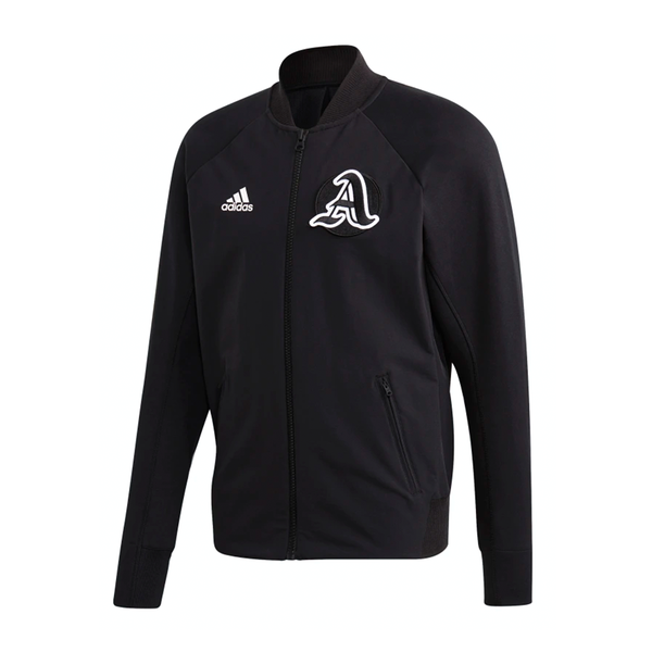 Adidas Varsity Jacket (Men's) - Black/Black