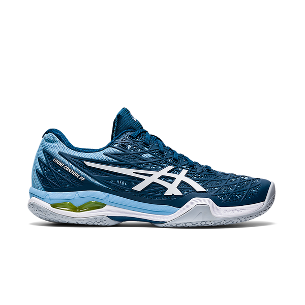 Asics Court Control FF (Women's) - Mako Blue/White