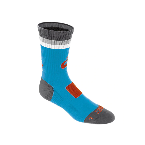 Asics Craze Crew Sock - Atomic Blue/Orange