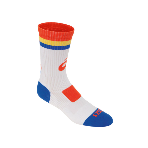 Asics Craze Crew Sock - White/Orange