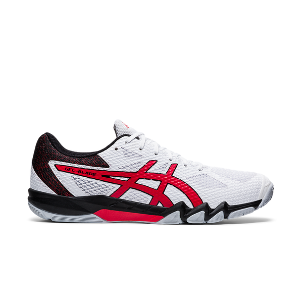 Asics Gel-Blade 7 (Men's) - White/Classic Red