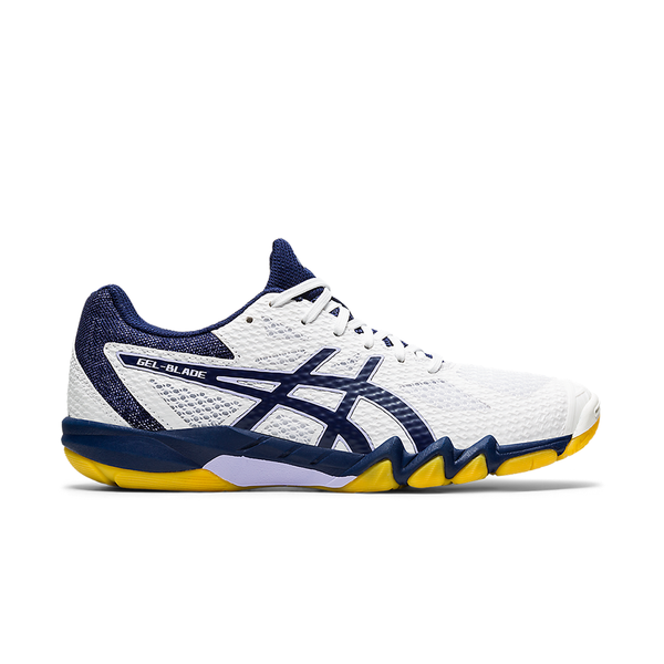Asics Gel-Blade 7 (Women's) - White/Peacoat