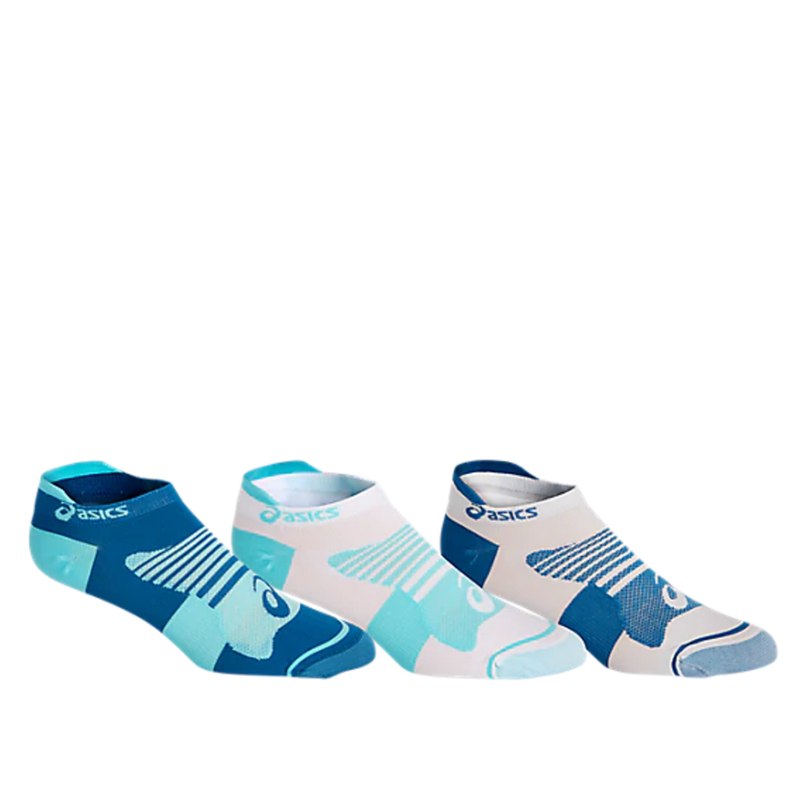 Asics Quick Lyte Single Tab (3 Pack) - Ice Mint/Deep Sapphire Pop