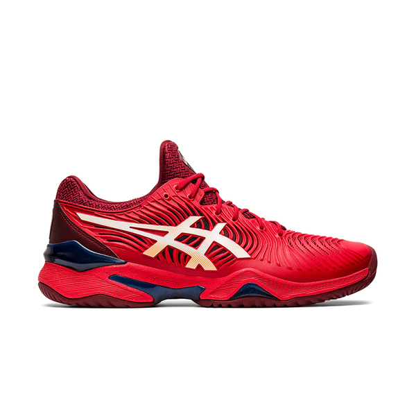Asics Court FF 2 Tennis (Men's) - Classic Red/White