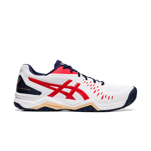Asics Gel-Challenger 12 (Men's) - White/Classic Red