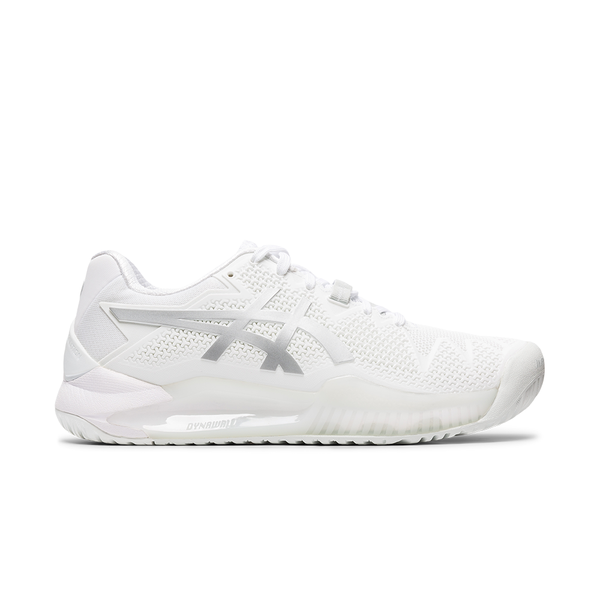 Asics Gel-Resolution 8 (Women's) - White/Pure Silver